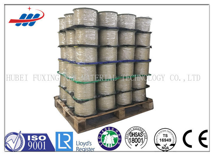 Higher Flexibility Brass Coated Steel Wire Good Wearing Long Life Time