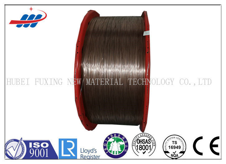 Professional Copper Coated Steel Wire 0.78mm / 1.0mm For Car And Truck Radial Tire
