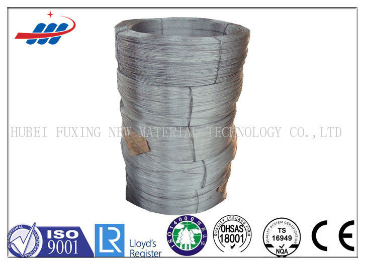 Dia 2mm High Tension Galvanized Steel Wire Zinc Coated For Mesh Building