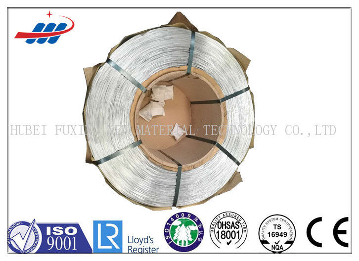 Hot Dipped Galvanized Steel Wire 0.65-4.0 With 900-2200g/M2 Tensile Strength