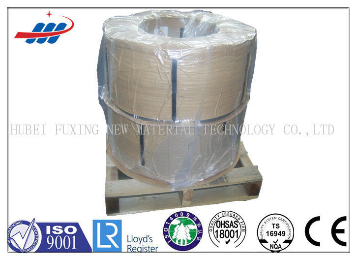 1520-1720MPA Galvanized Steel Wire For For Road Brush , Diameter 0.75mm