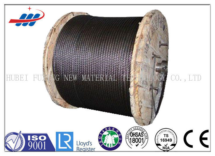 8mm / 10mm Elevator Wire Rope / Elevator Steel Cable Drawn Wire Type