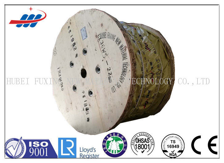 8*19S Steel Cable Wire Rope For Lifting Equipment / Construction Hoist