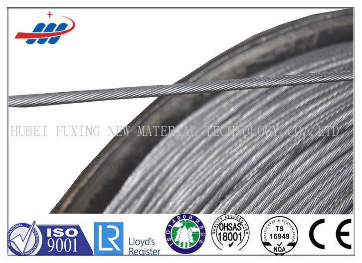 Zinc Plating Prestressed Concrete Wire 1770MPA , Prestressing Steel Strand